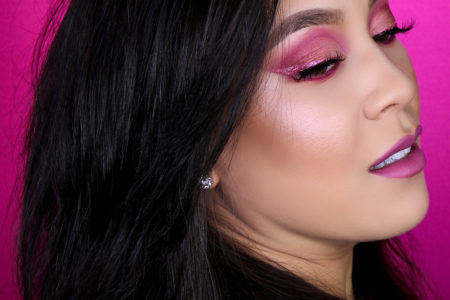 Hot Pink Cut Crease Eyeshadow Tutorial