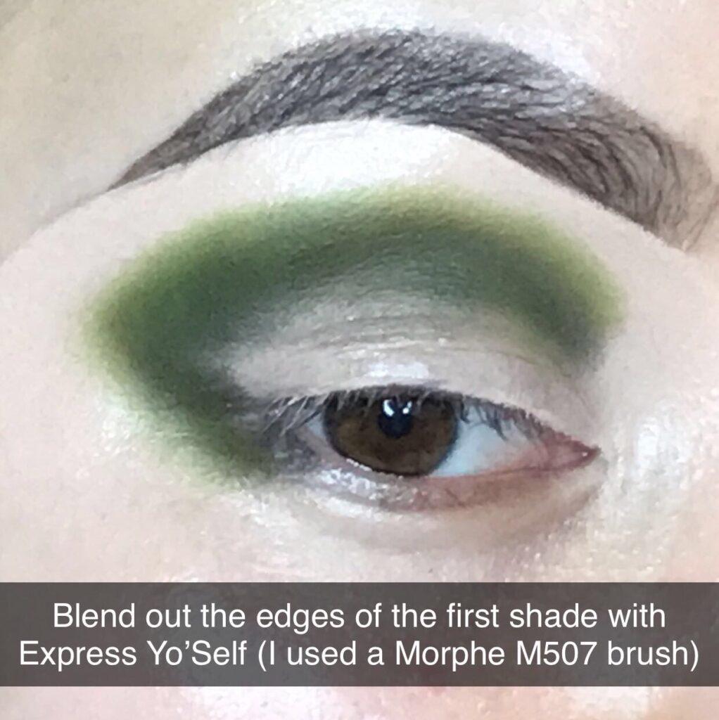 Green Cut Crease Eyeshadow Tutorial