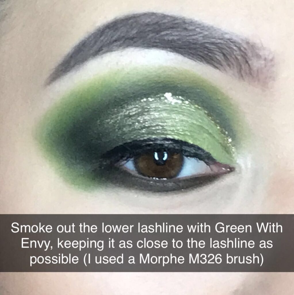 Green Cut Crease Eyeshadow Tutorial