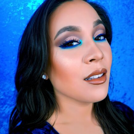 Pop Of Blue Eyeshadow Tutorial
