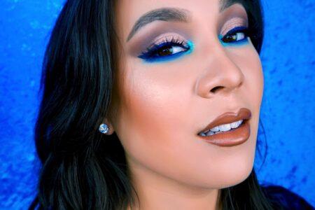 Pop Of Blue Eyeshadow Tutorial