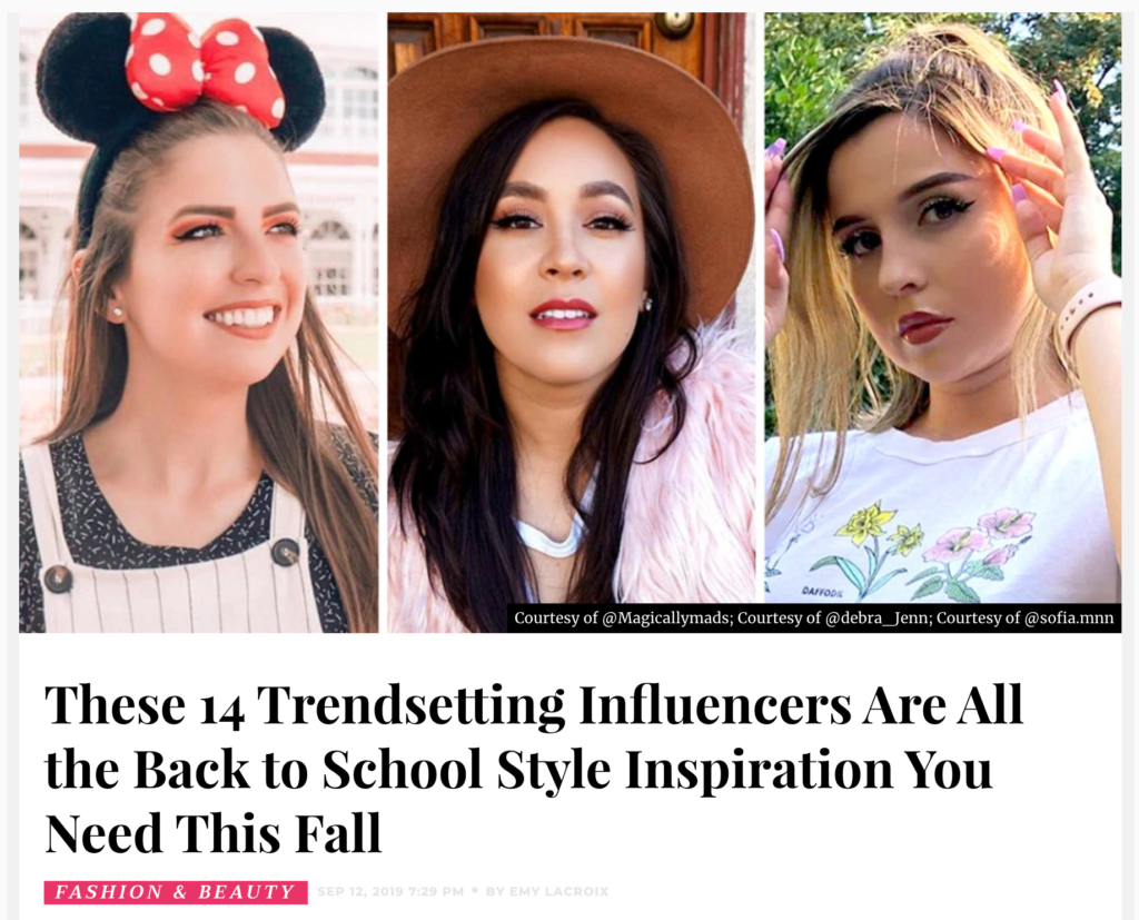 Influencers To Follow For Back To School Style Inspiration