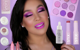 ColourPop Lilac Palette Tutorial