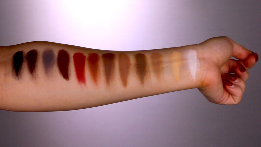 ColourPop Hola Chola Swatches