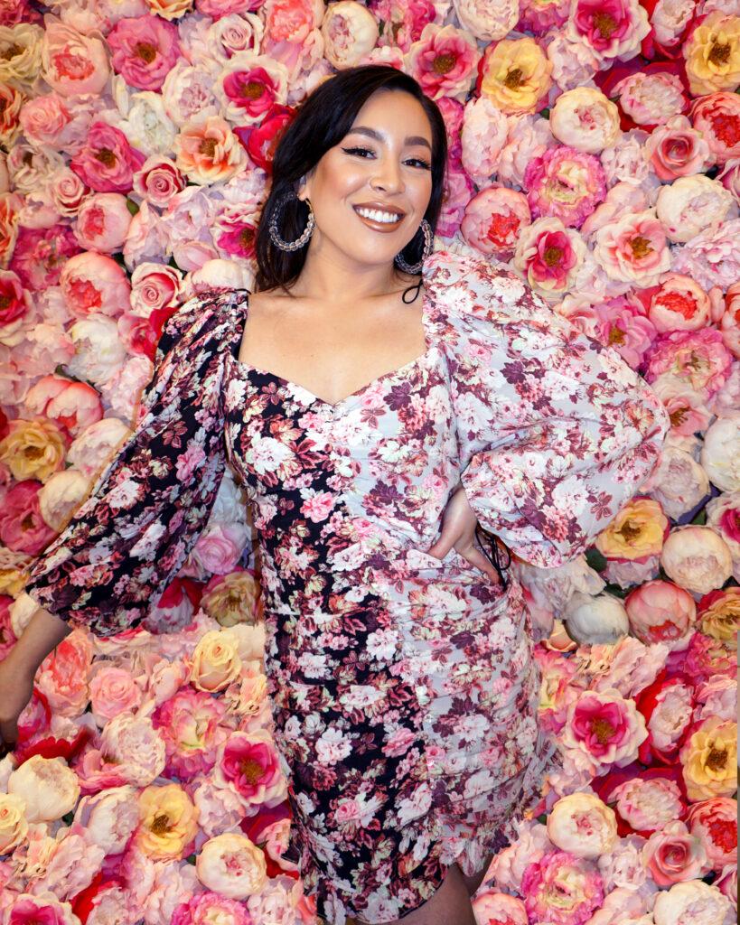 For Love & Lemons Floral Dress