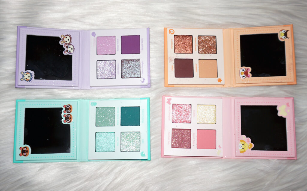 ColourPop Animal Crossing Palettes