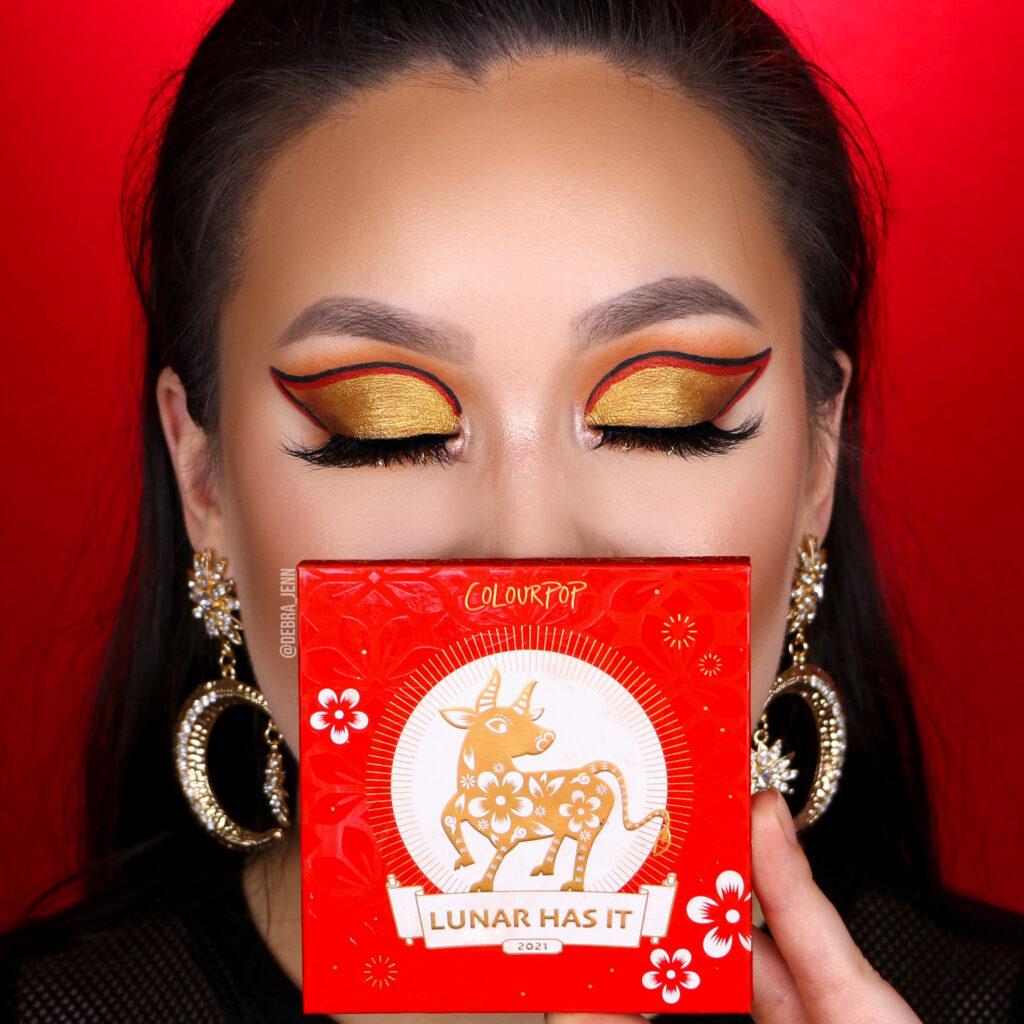 Colourpop Lunar New Year Look