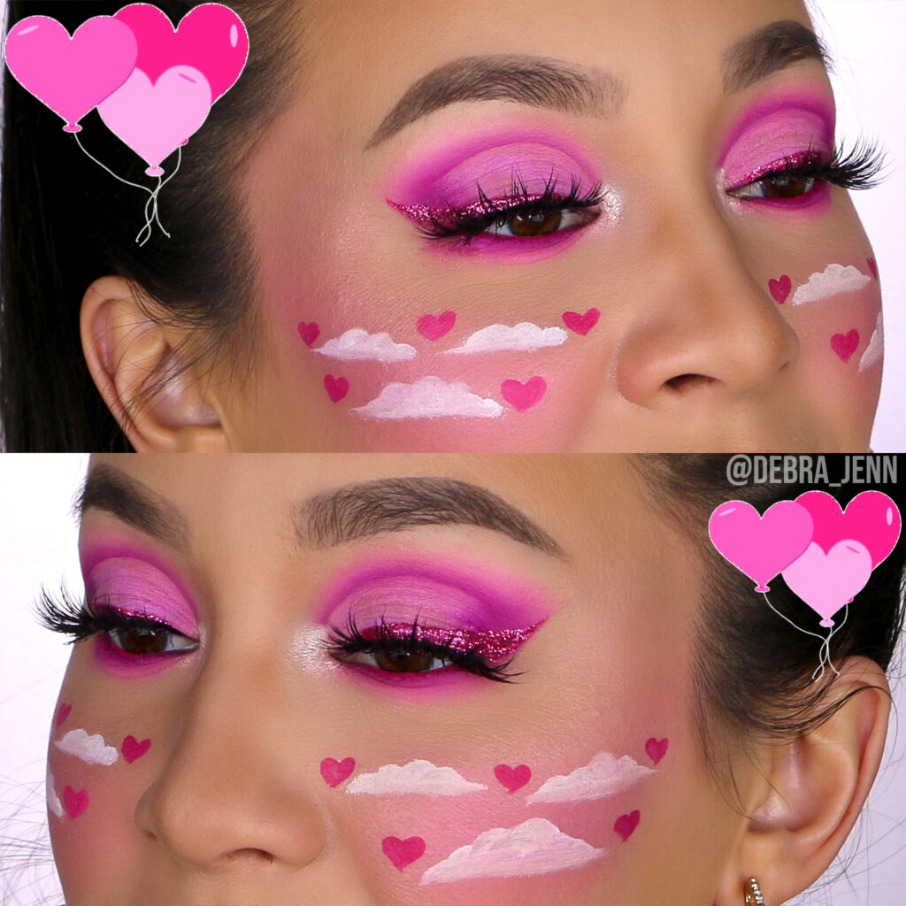 Pink Eyeshadow for Valentines Day