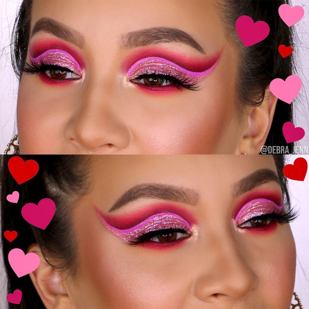 Valentines Day Eyeshadow Look