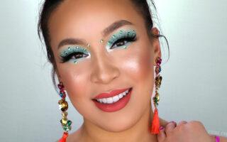 Mint Green Eyeshadow Look