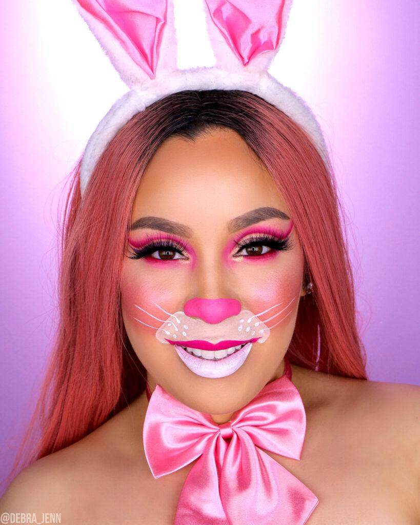 Easter Bunny Makeup