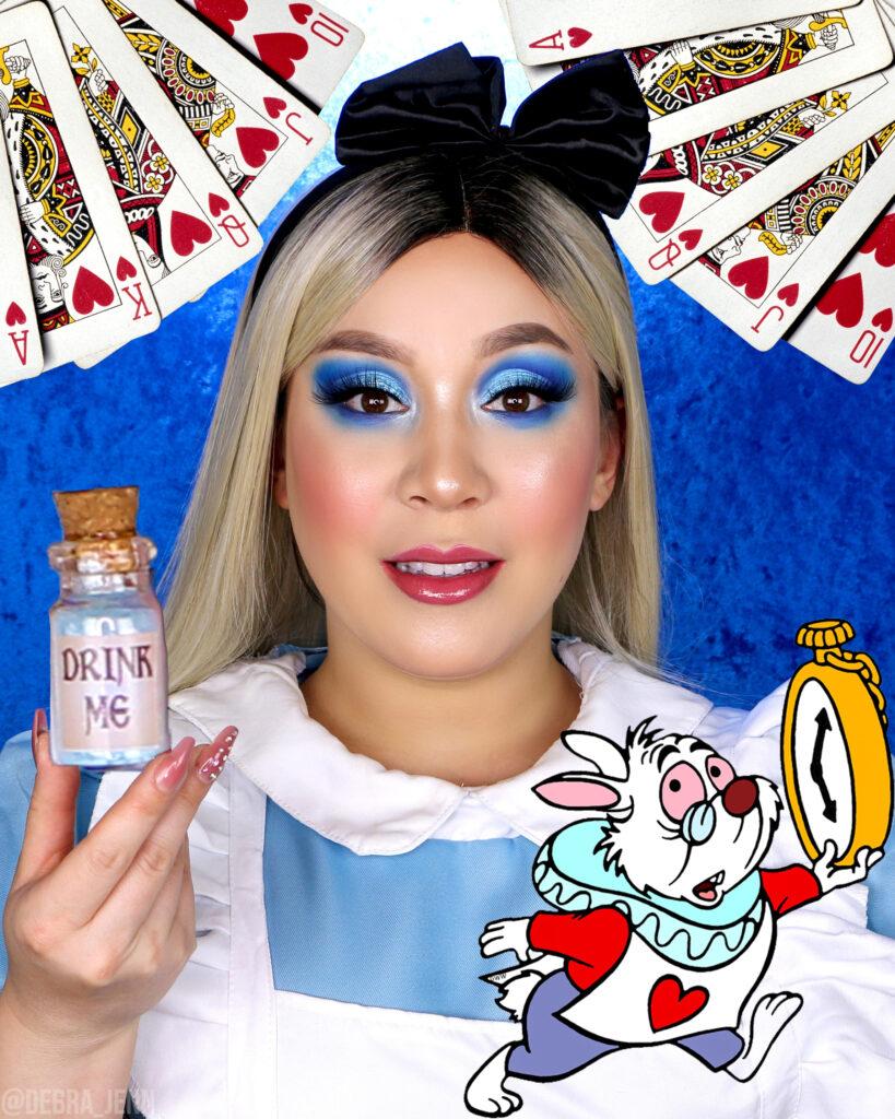 alice in wonderland makeup for halloween