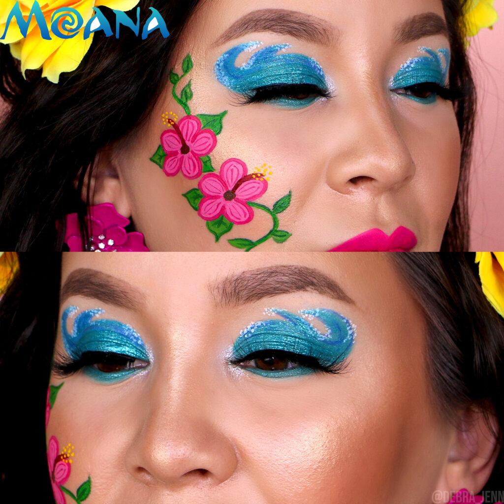 Moana Face Paint