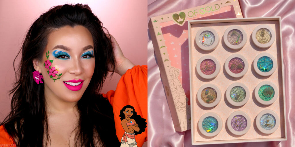 Moana Face Paint and ColourPop Heart of Gold Set