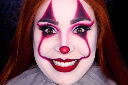 Pennywise Makeup for Halloween