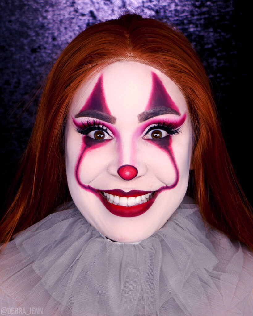 pennywise the clown makeup for halloween