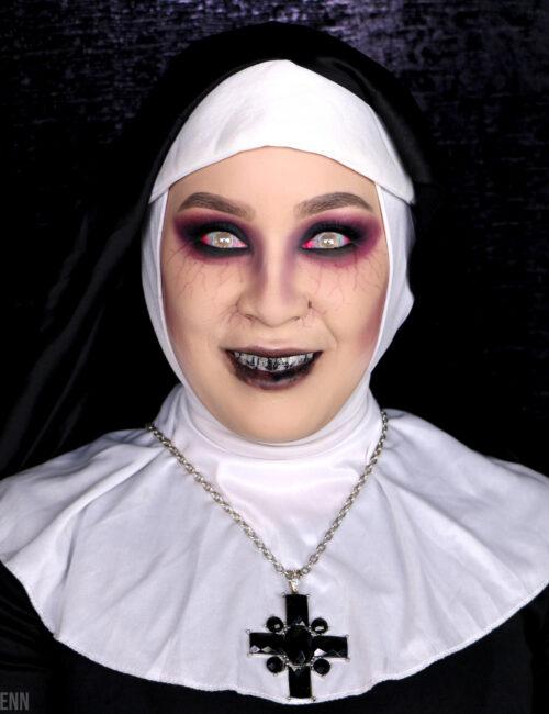The Nun Makeup